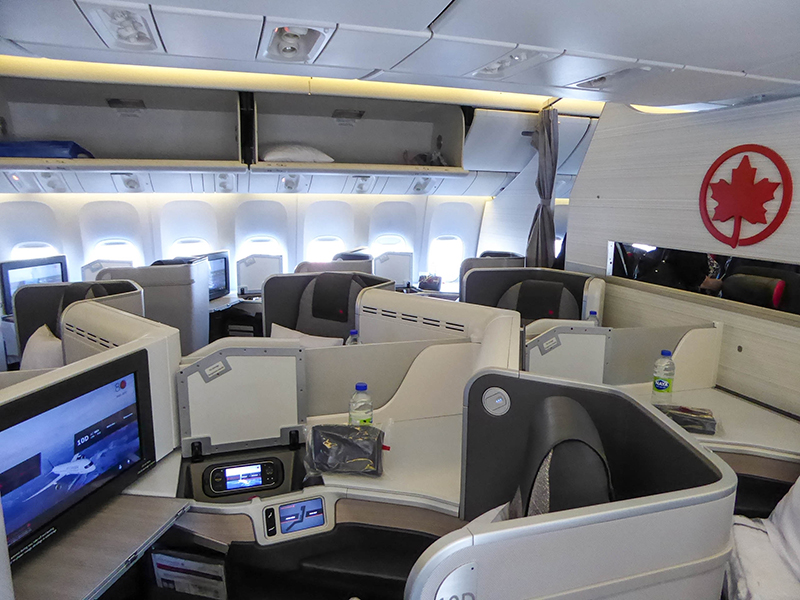 Review Air Canada International Business Class Copenhagen To Toronto Travels With Janny